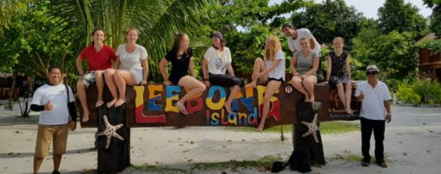 fasilitas pulau leebong