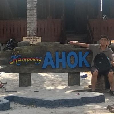 rumah ahok dan kampoeng ahok di belitung timur