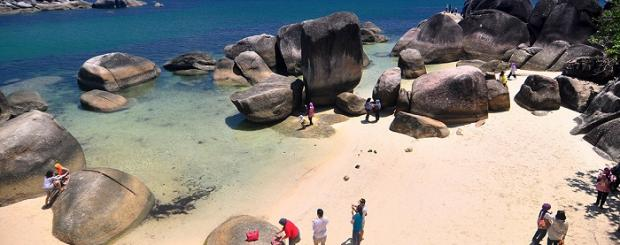 demografi dan budaya Belitung