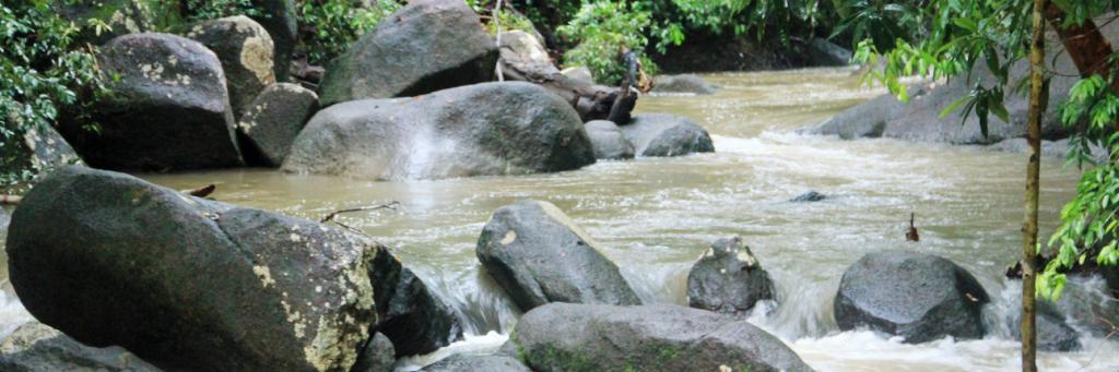 kondisi air terjun batu mentas